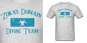 LOZ Zora Diving Team Shirt