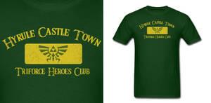 LOZ Triforce Heroes Club Shirt