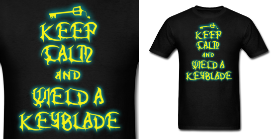 KH Keep Calm Wield Keyblade by Enlightenup23