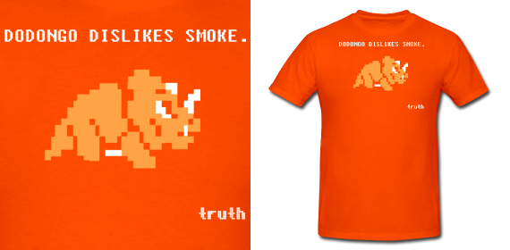 Dodongo Dislikes Smoke Truth T Shirt by Enlightenup23
