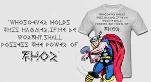 Avenger Thor's Hammer T Shirt