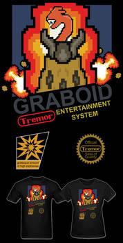 Tremors Graboid Video Game T Shirt