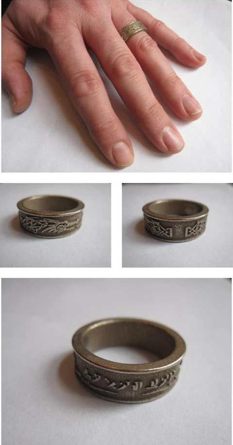 Skyrim Dovahkiin Ring by Enlightenup23