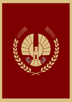 Hunger Games Panem Capitol Flag