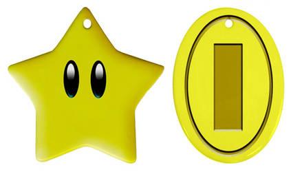 Mario Ornaments by Enlightenup23