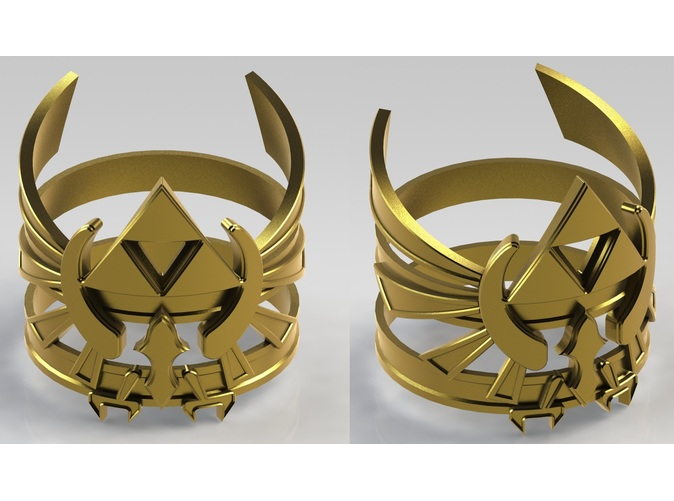 LOZ Hylian Crest Ring by Enlightenup23