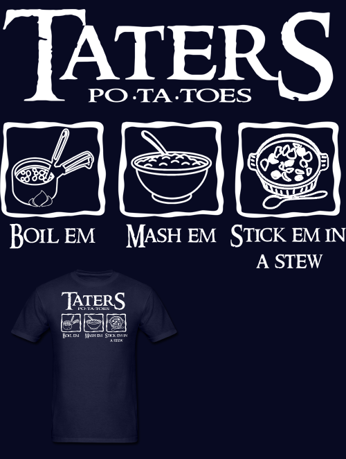 Lord Of The Ring Potatoes