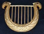 LOZ Goddess Harp Lyre Replica Pendant