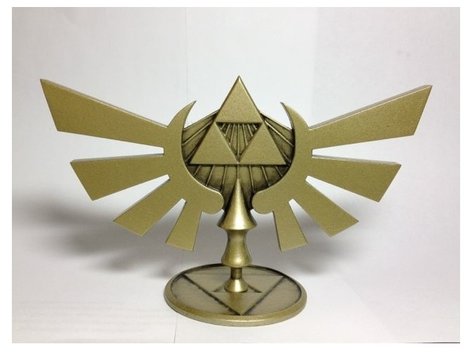 LOZ Hyrule Crest Statuette by Enlightenup23