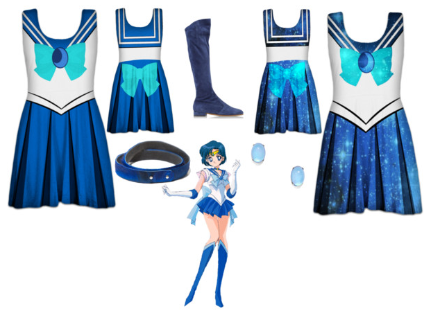 Sailor Mercury Skater Dresses / Outfit by Enlightenup23