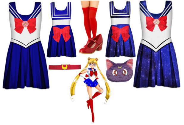Sailor Moon Skater Dresses / Outfit by Enlightenup23