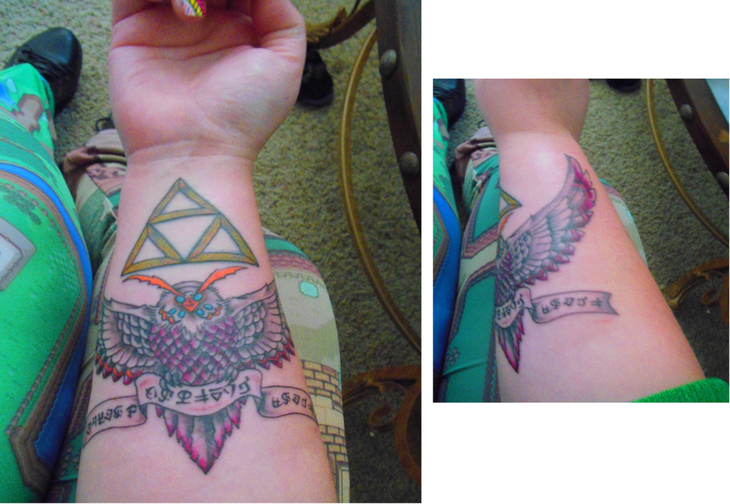 My Zelda Tattoo by Enlightenup23
