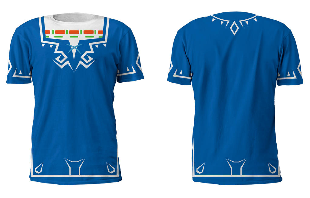 Zelda U Link Costume T Shirt by Enlightenup23