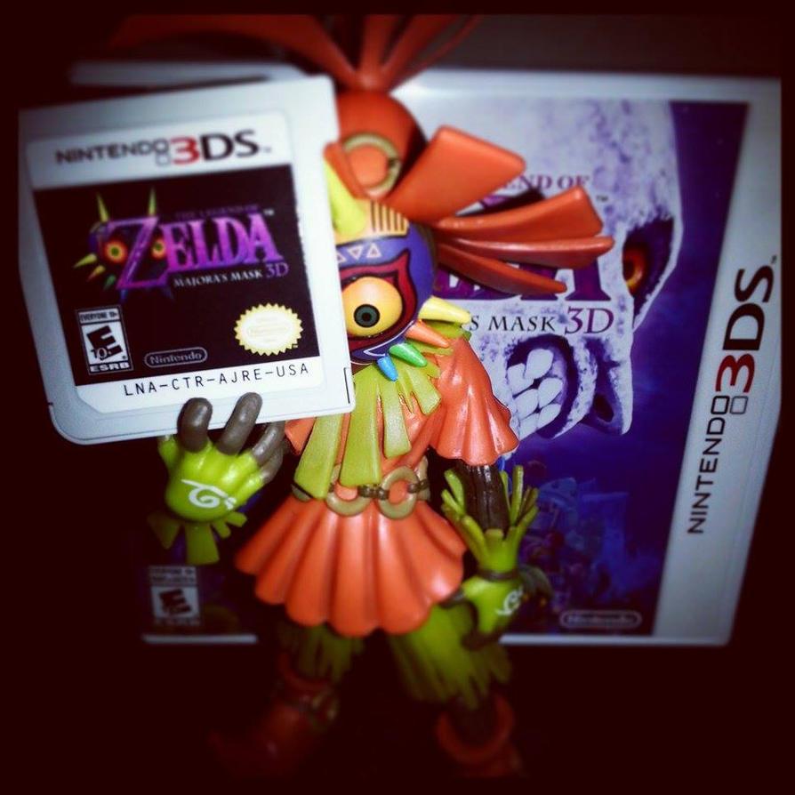 Zelda Majora's Mask 3D Skull Kid by Enlightenup23