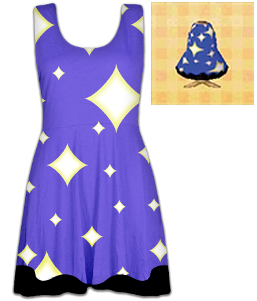 Animal Crossing Twinkle Dress by Enlightenup23