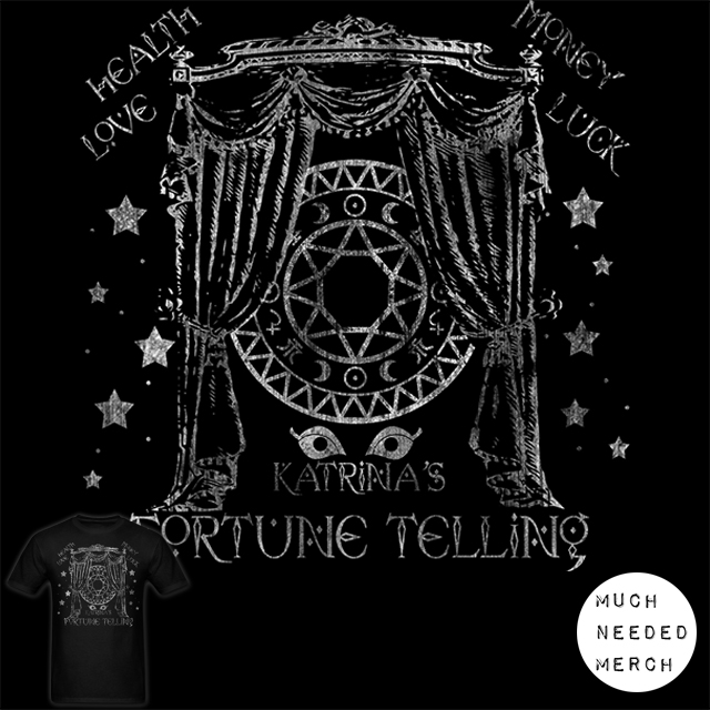 Animal Crossing Katrina's Fortune Telling Shirt by Enlightenup23