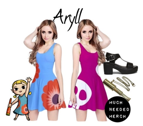 Aryll Dresses by Enlightenup23