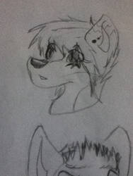 face doodle by kitsune-yoei