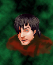 Adam Gontier Digital Portrait by VirusMetalGarurumon