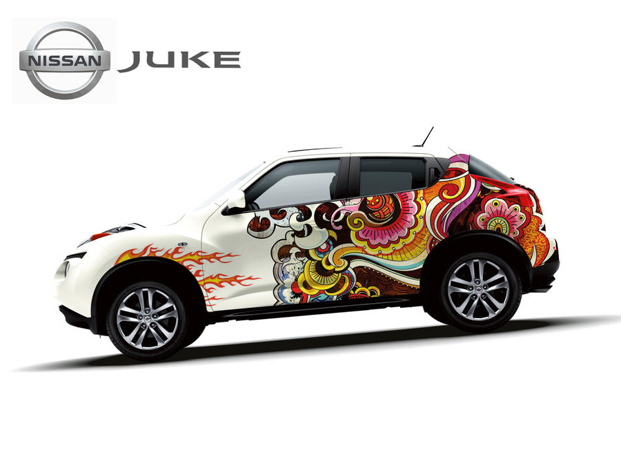 Nissan juke design sticker contest 2012 10 besar by yogaprayoga