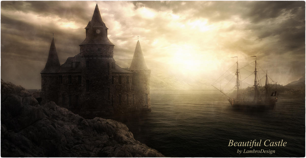 Beautiful Castle by LambroDesign