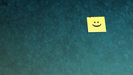 Smiley Sticky Note. by Needzy