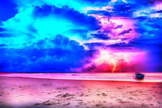 PhotoFox Beach and thunder.