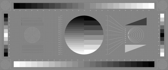 UWQHD 3440 x 1440 Testscreen