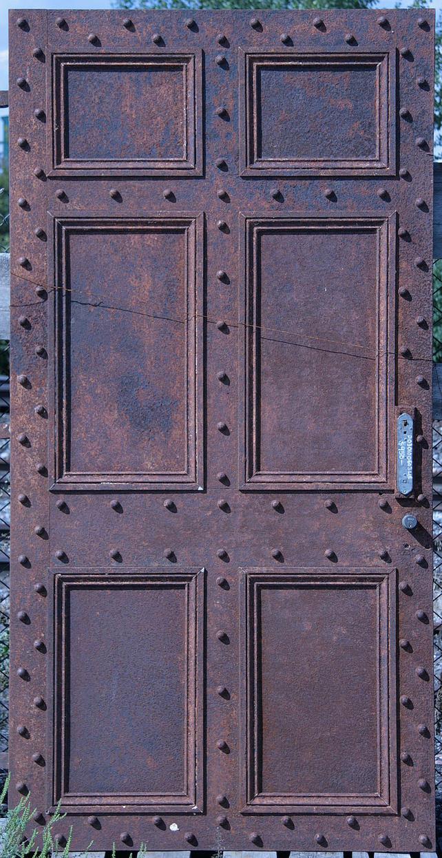 Rusty Iron Door 1 by barefootliam-stock ... & Rusty Iron Door 1 by barefootliam-stock on DeviantArt