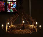 church candelabra