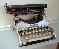 Early typewriter stock - 1907