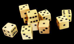 ivory dice 05 by barefootliam-stock