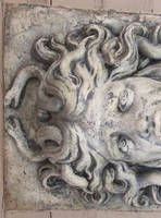 Stone medusa 02 by barefootliam-stock