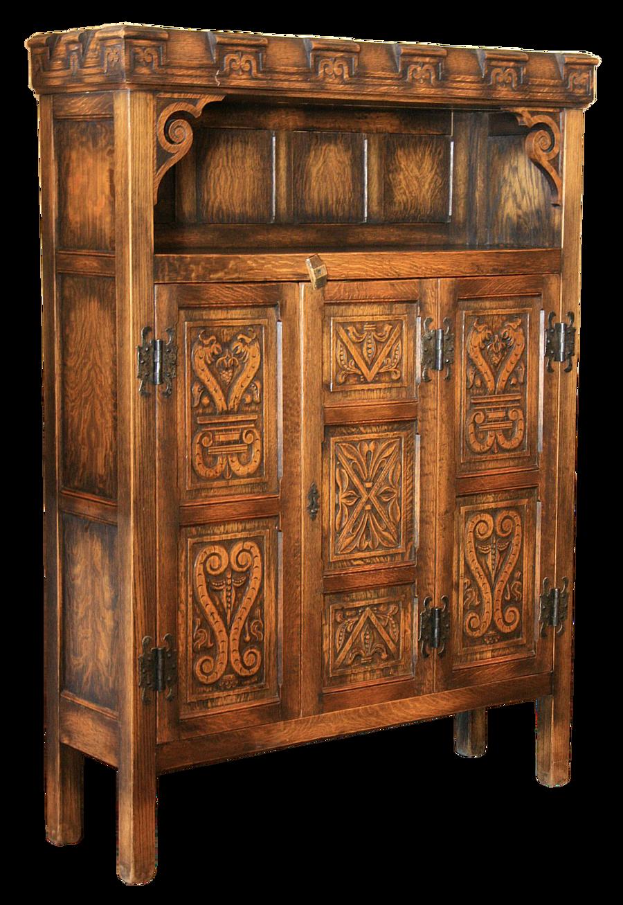 ... Castle antique cupboard, cut-out version by barefootliam-stock - Castle Antique Cupboard, Cut-out Version By Barefootliam-stock On