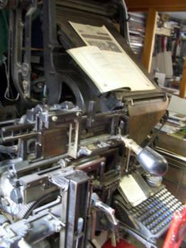 Linotype Machine 01