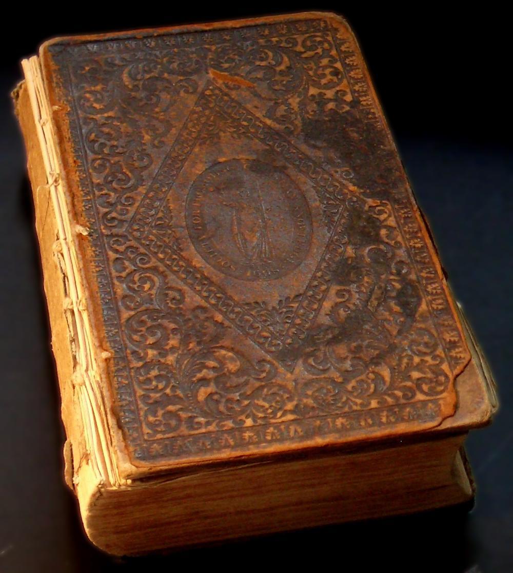 old prayer book 01 by barefootliam-stock