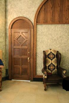 Castle - interior room, door