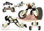 Groundster - Future intergalactic vehicle