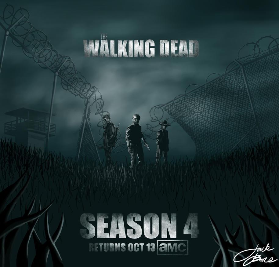 The Walking Dead Season 4 Poster by GreenYosh on DeviantArt