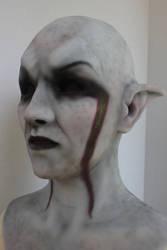 Finished Dunmer Mask by FeralWorks