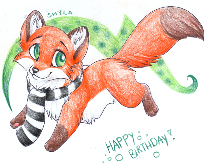 Happy Birthday Chibi - Gift by PoonieFox on DeviantArt