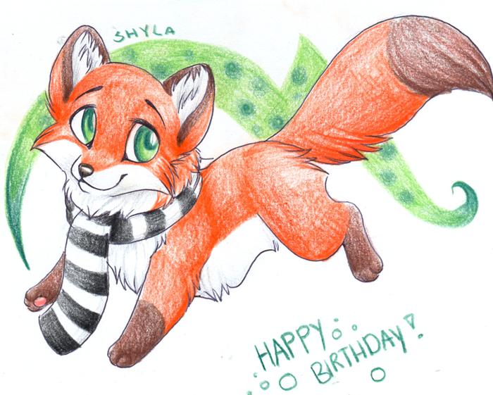 Happy Birthday Chibi - Gift by PoonieFox on DeviantArt