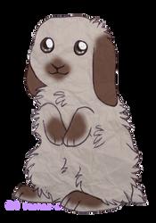 Alabaster - Paper Bunny by PoonieFox