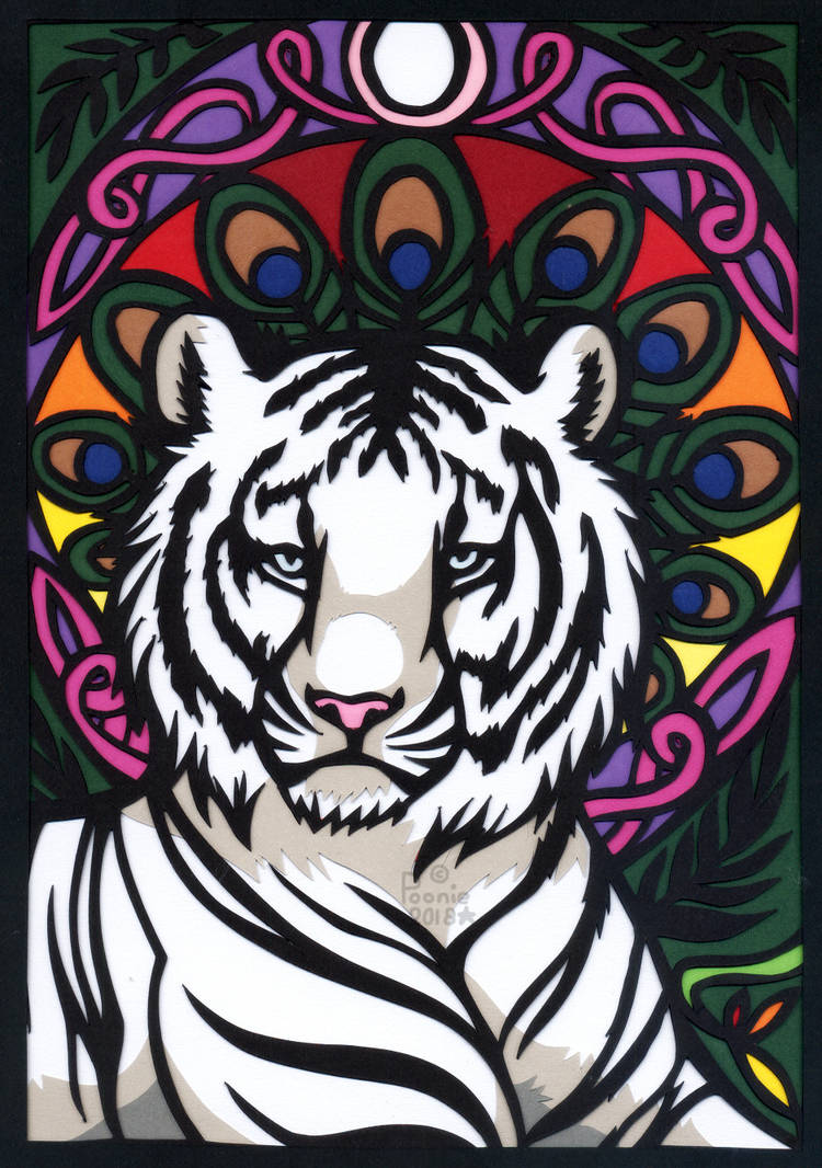 The Peacock Tiger by PoonieFox
