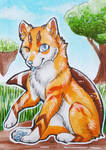 Your Sunday Afternoon - ACEO Trade by PoonieFox