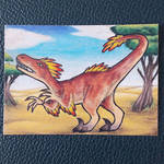 Vanquished - ACEO Trade by PoonieFox