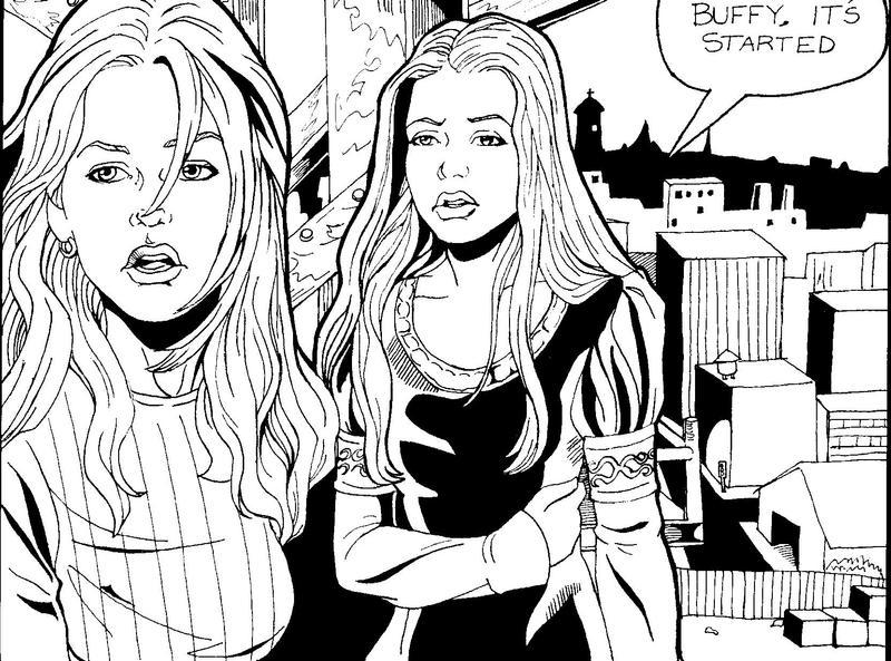 Buffy and Dawn - Season Five Finale by greysummers610