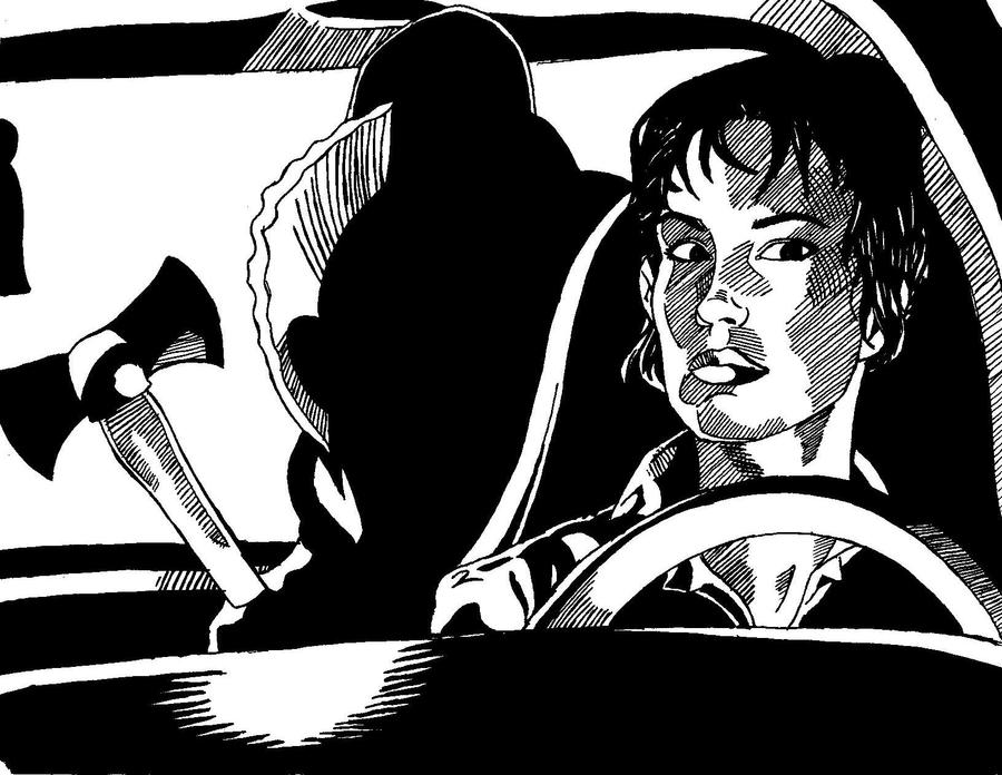 Urban Legends - Killer in the backseat