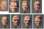 Male Portraiture Practice WIP 1