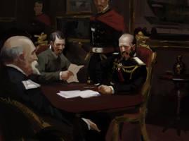 Secret Conference by tithendar